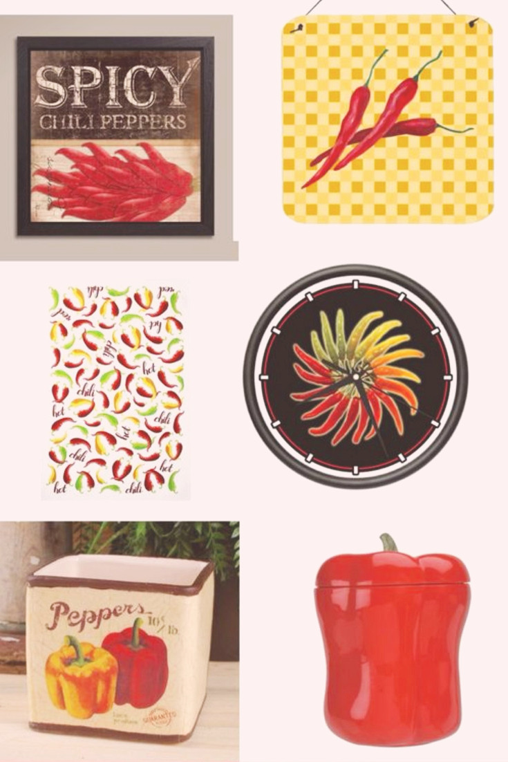 Best ideas about Chili Pepper Kitchen Decor . Save or Pin Chili Pepper Kitchen Accessories – Great Gift Ideas Now.
