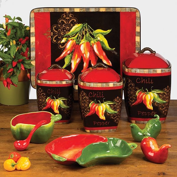 Best ideas about Chili Pepper Kitchen Decor . Save or Pin 43 best chili pepper decor images on Pinterest Now.