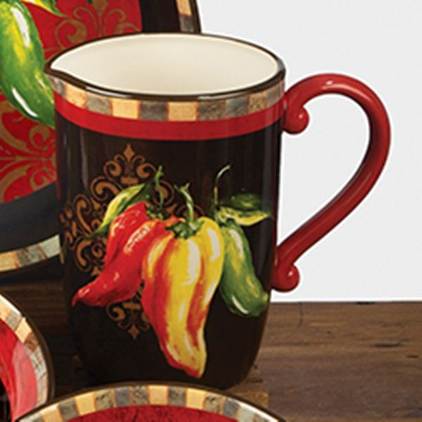 Best ideas about Chili Pepper Kitchen Decor . Save or Pin 79 best images about Southwestern kitchens on Pinterest Now.