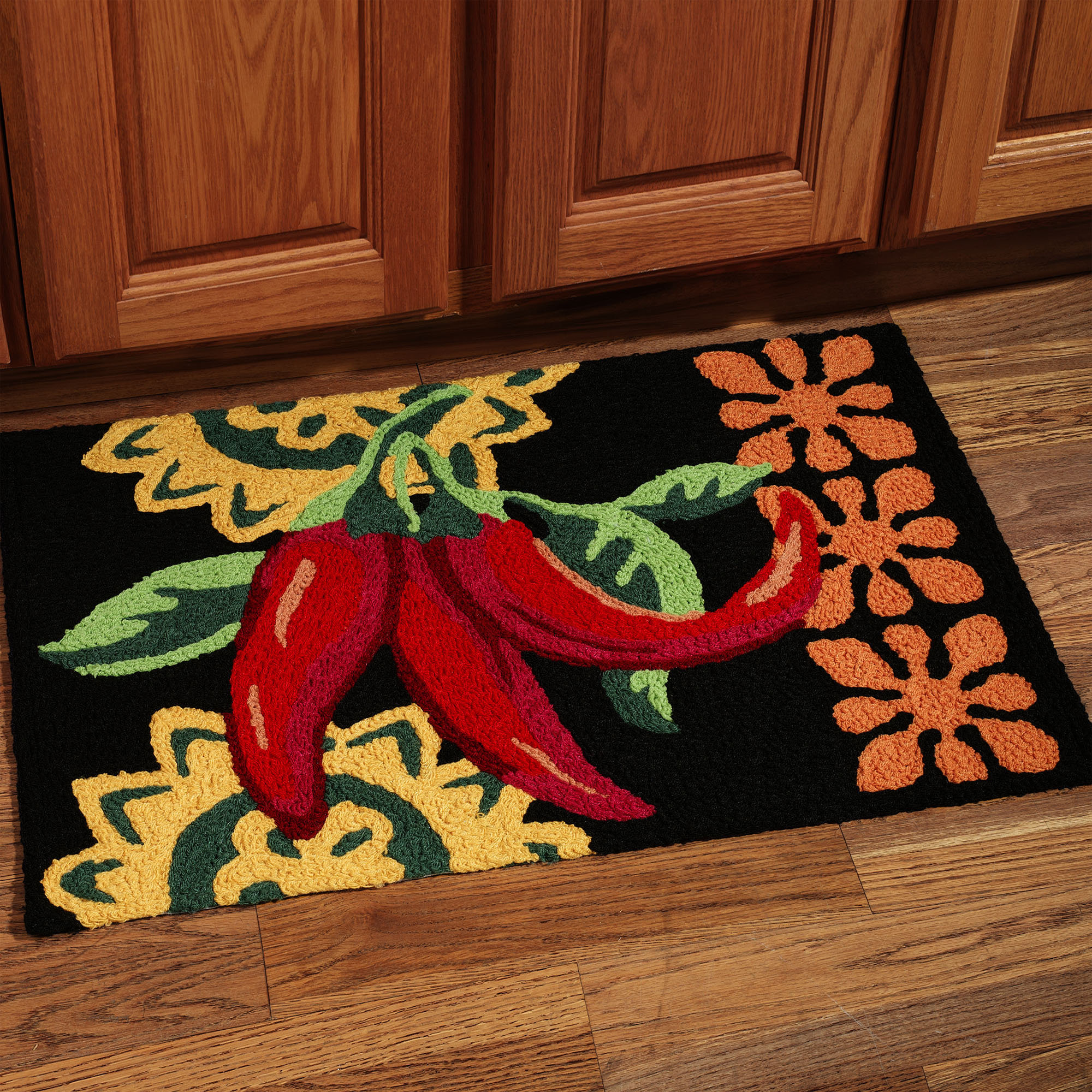 Best ideas about Chili Pepper Kitchen Decor . Save or Pin Best Kitchen Rugs and Mats Selections Now.