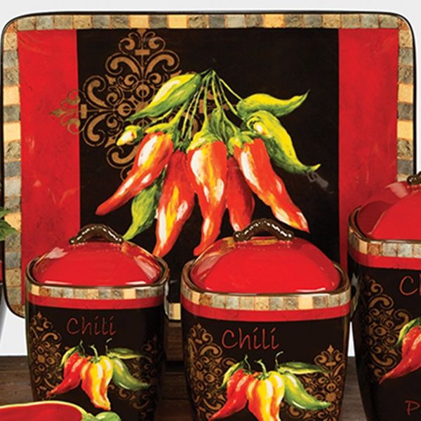 Best ideas about Chili Pepper Kitchen Decor . Save or Pin Chili Pepper Decor Now.