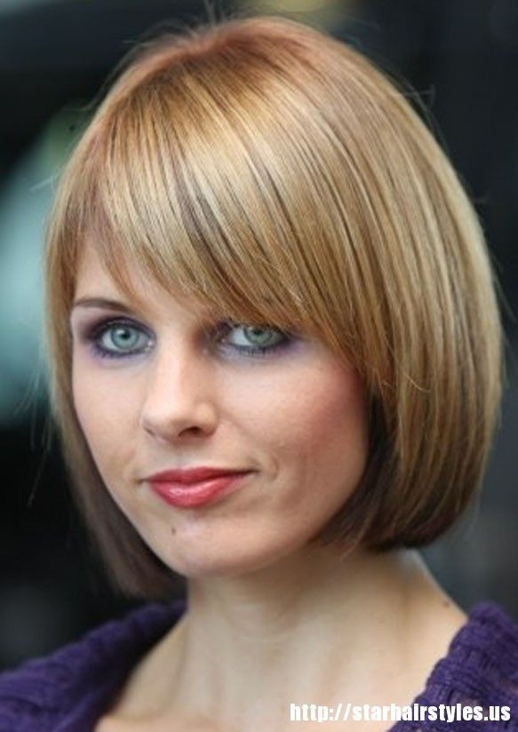 Best ideas about Chin Length Bob Haircuts . Save or Pin Chin length bob with bangs Hairstyle for women & man Now.