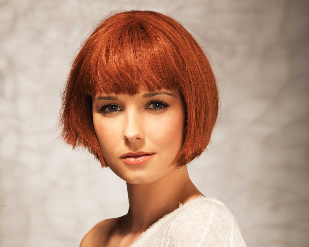Best ideas about Chin Length Bob Haircuts . Save or Pin 5 Benefits Chin Length Hairstyles With Bangs That May Now.