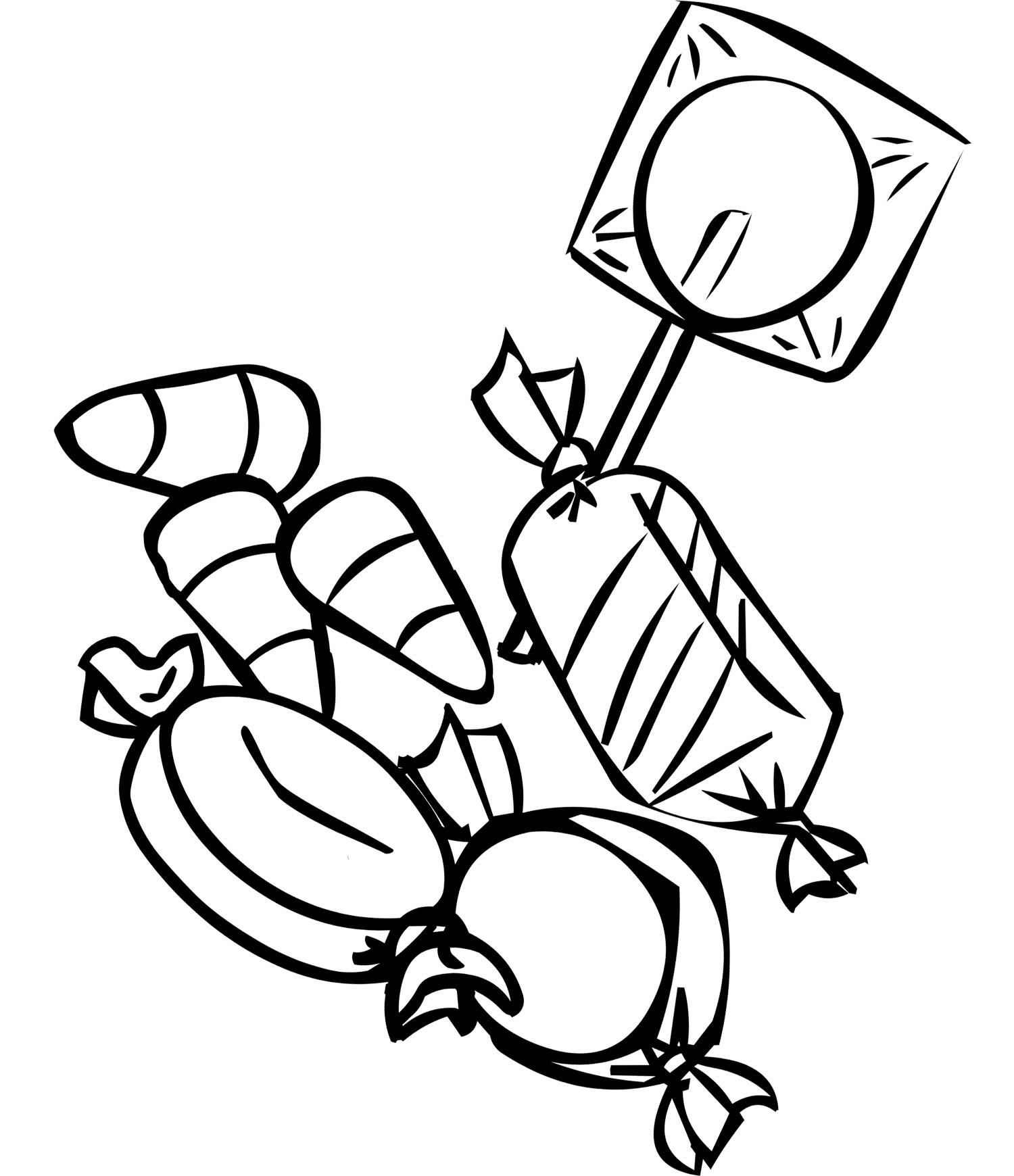 Chocolate Coloring Pages  Free Printable Candy Coloring Pages For Kids