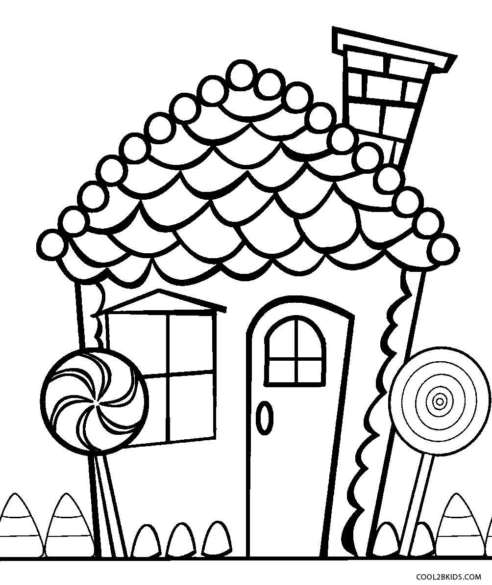 Chocolate Coloring Pages  Printable Candy Coloring Pages For Kids