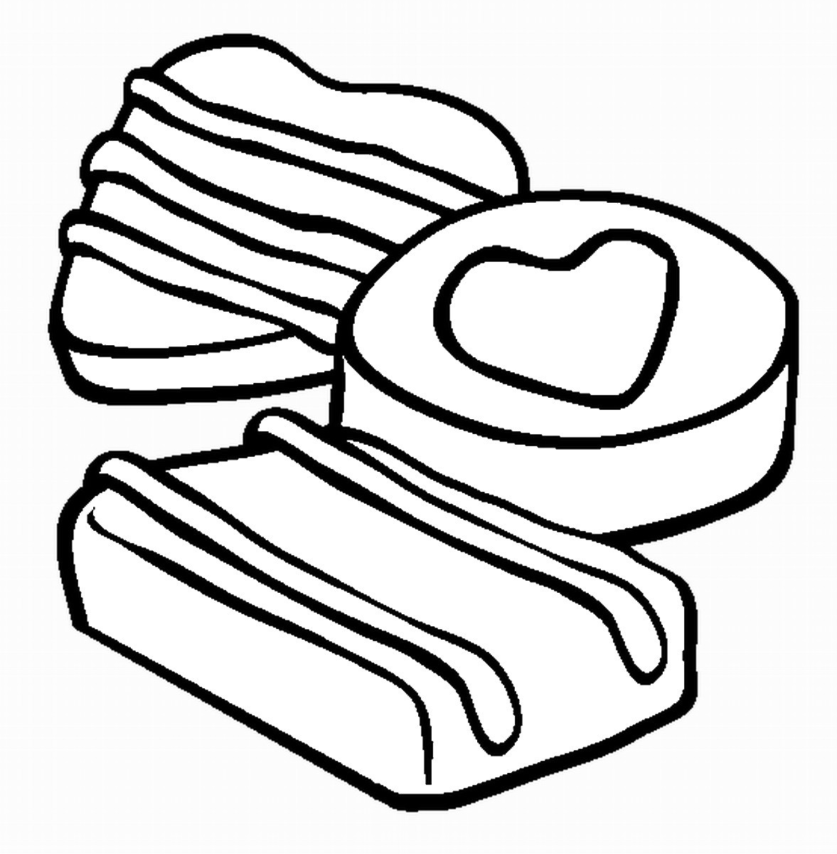 Chocolate Coloring Pages  Chocolate Coloring Pages