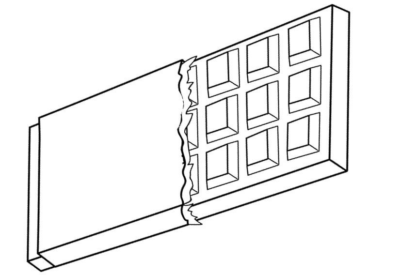 Chocolate Coloring Pages  A Long Chocolate Coloring Pages chocolate