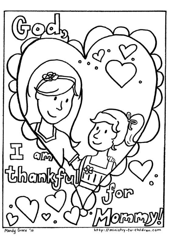 Christian Printable Coloring Sheets For Girls  Free Christian Coloring Pages for Kids Children and