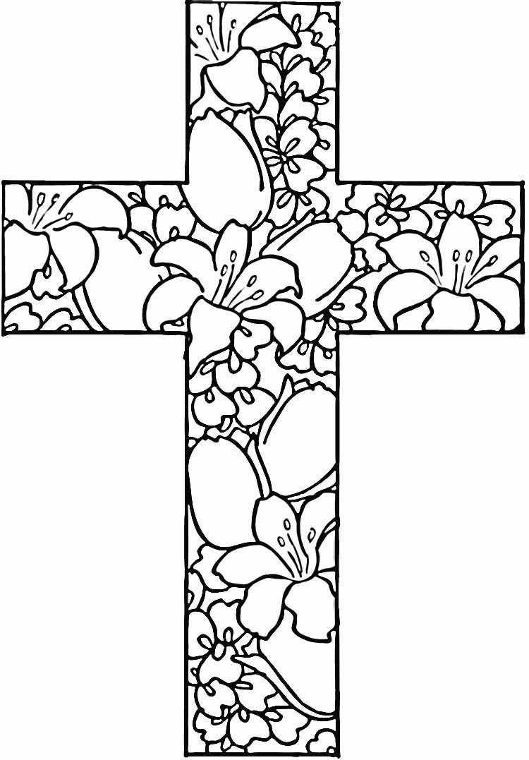 Christian Printable Coloring Sheets For Girls  25 Religious Easter Coloring Pages
