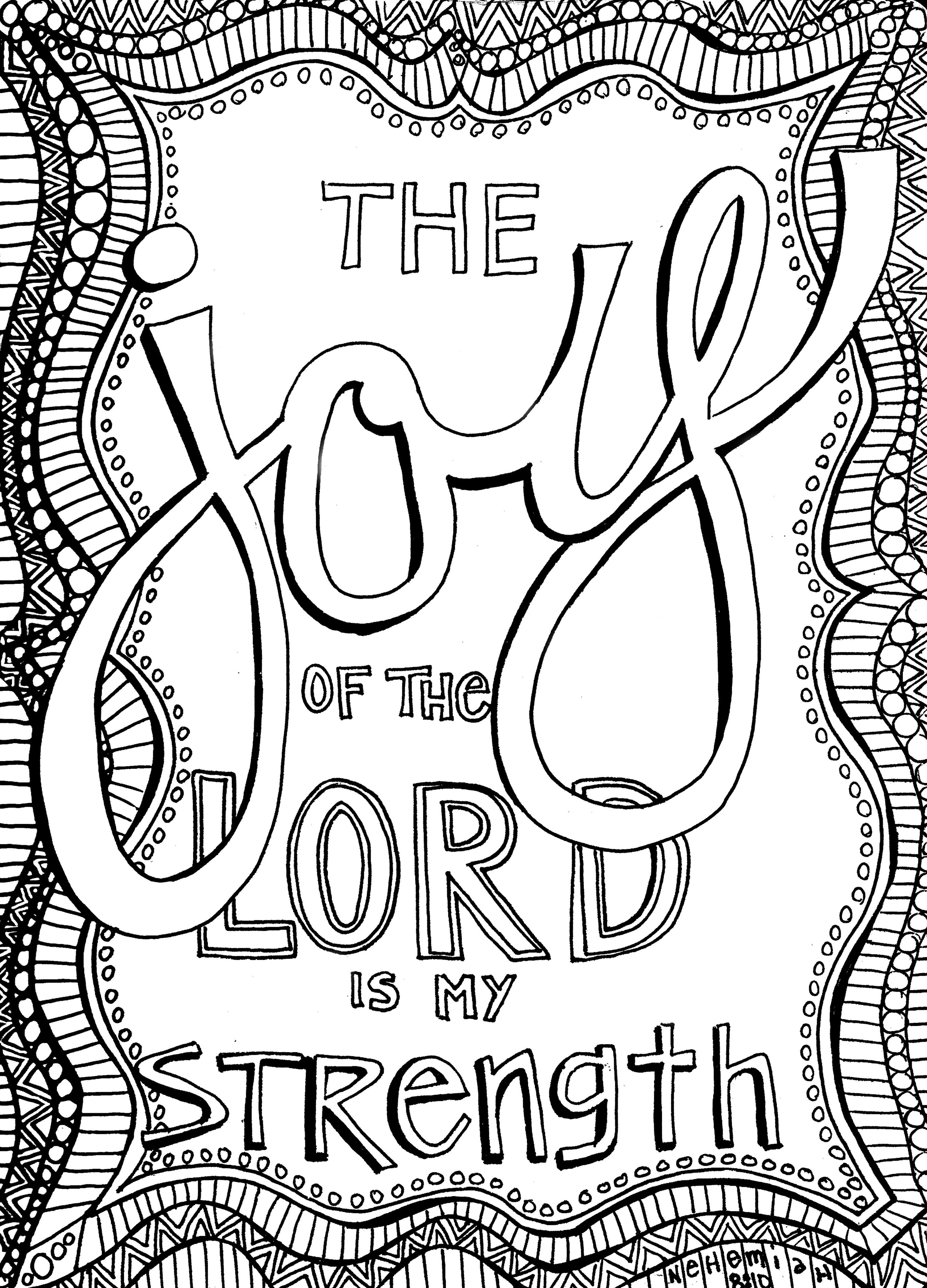 Christian Printable Coloring Sheets For Girls  Free Christian Coloring Pages for Adults Roundup