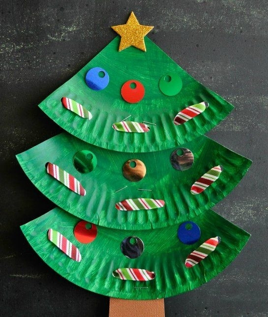 Christmas Art And Craft Ideas For Preschoolers  Art Craft For Christmas