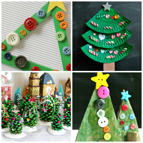 Christmas Art And Craft Ideas For Preschoolers  Creative Christmas Tree Crafts And Activities For Kids I