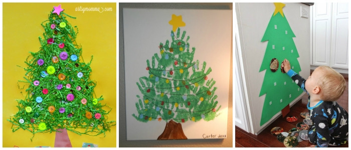 Christmas Art And Craft Ideas For Preschoolers  Christmas Art Craft Ideas Kids & Preschool Crafts