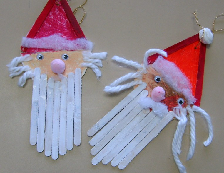 Christmas Art And Craft Ideas For Preschoolers  Kindergarten Xmas Crafts Search Results