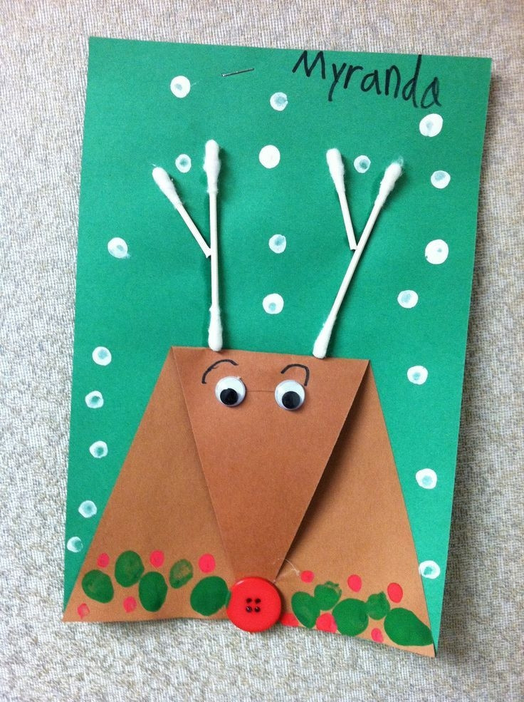 Best ideas about Christmas Arts And Crafts For Preschoolers . Save or Pin Christmas Arts And Crafts Ideas For Kindergarten Best Now.