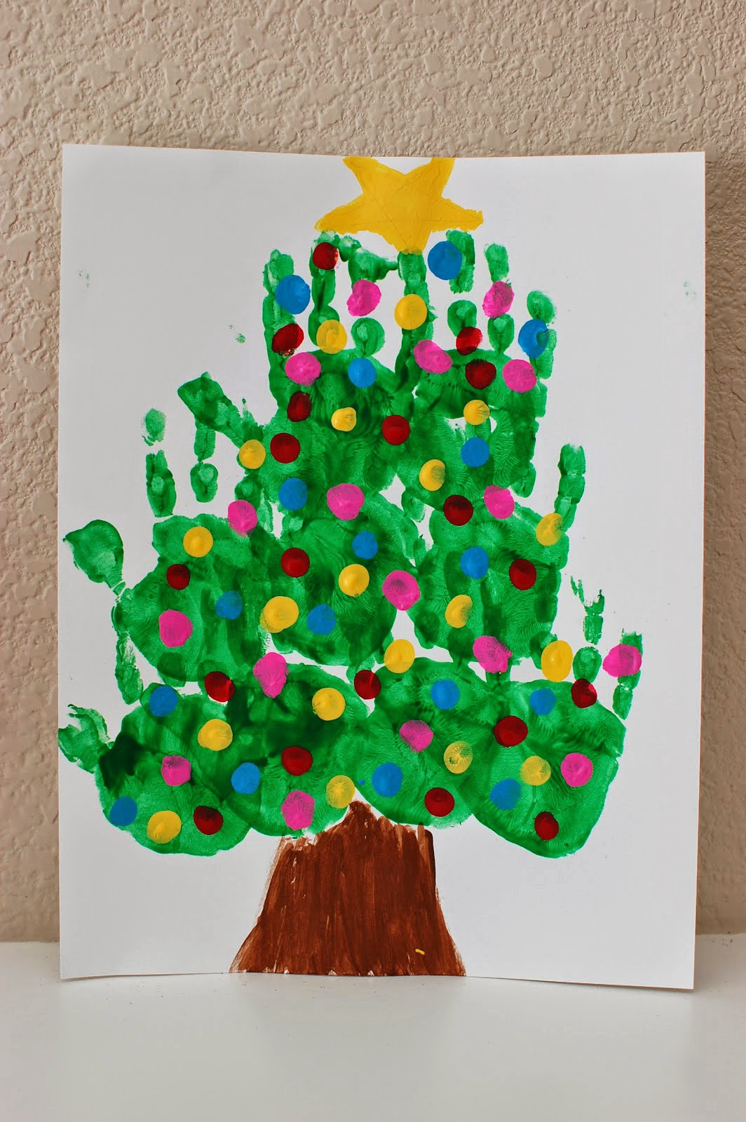 Best ideas about Christmas Arts And Crafts For Preschoolers . Save or Pin 20 of the Cutest Christmas Handprint Crafts for Kids Now.