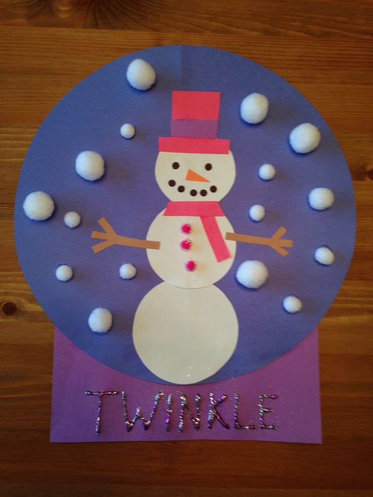 Best ideas about Christmas Arts And Crafts For Preschoolers . Save or Pin Christmas Crafts For Kindergarten Now.