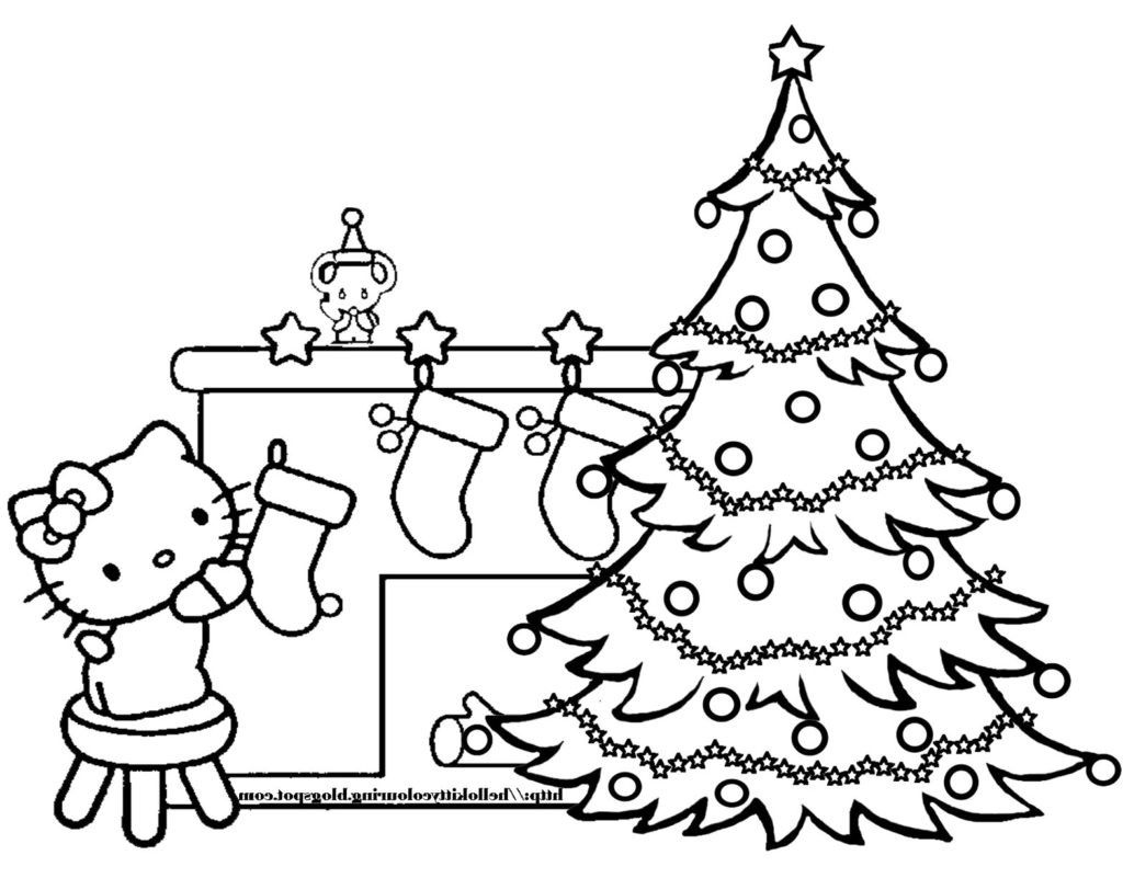 Christmas Coloring Pages For Girls  Coloring Pages Christmas Tree Color Pages Christmas