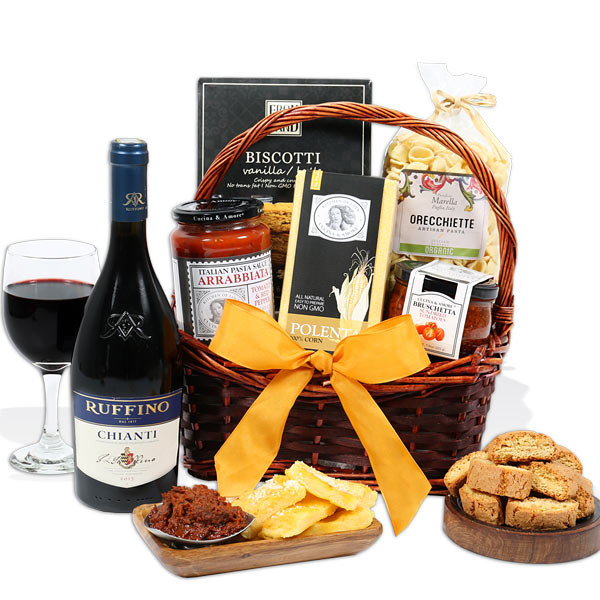 Best ideas about Christmas Gift Basket Ideas For Couples . Save or Pin Anniversary Gift Basket for Couples by GourmetGiftBaskets Now.