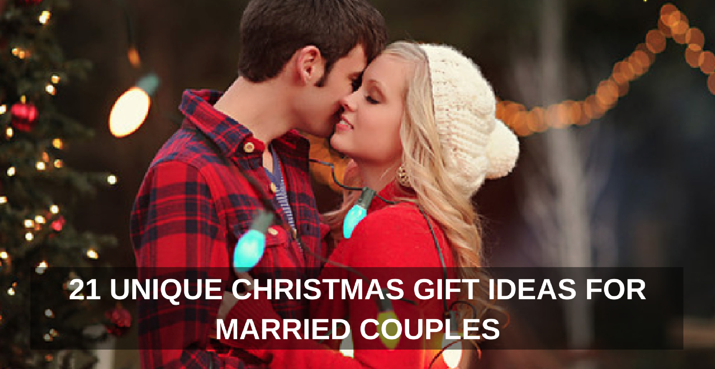 Best ideas about Christmas Gift For Couple Ideas . Save or Pin 21 Unique Christmas Gift Ideas for Married Couples Now.
