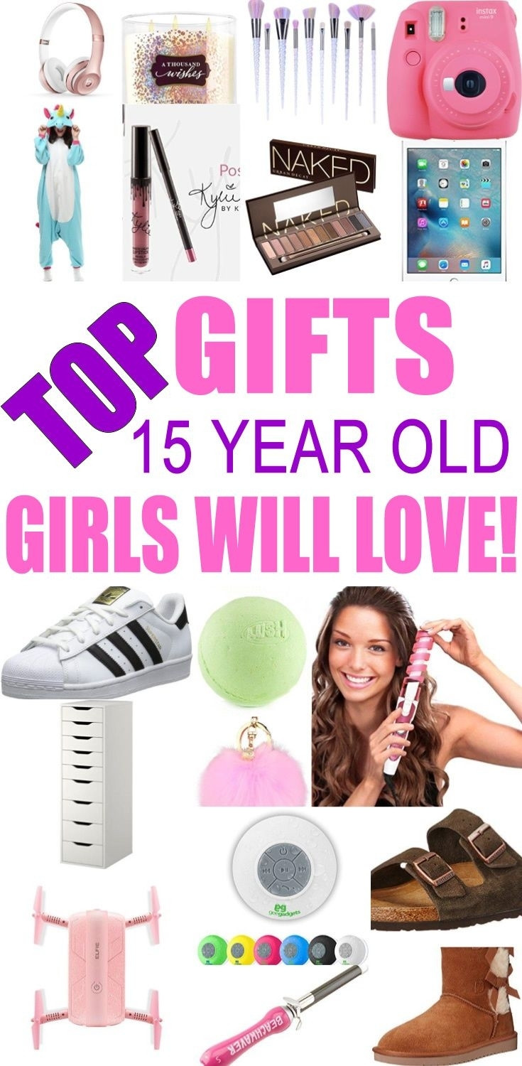 Best ideas about Christmas Gift Ideas For 15 Yr Old Girlfriend . Save or Pin Christmas Gifts For 15 Yr Old Girl Now.