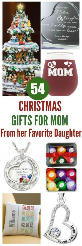 Christmas Gift Ideas For Moms From Daughters  Gifts for Mom from Her Daughter Top 60 Gifts