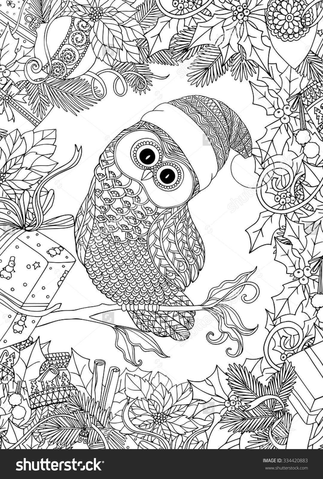 Christmas Printable Coloring Sheets For Older Kids  Christmas Coloring Pages For Older Kids
