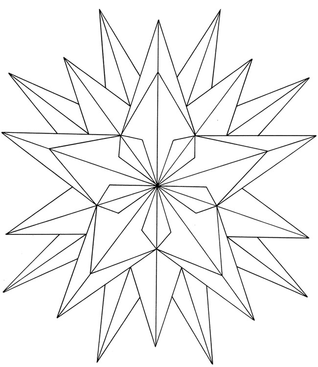 Christmas Star Printable Coloring Pages  Free Printable Star Coloring Pages For Kids