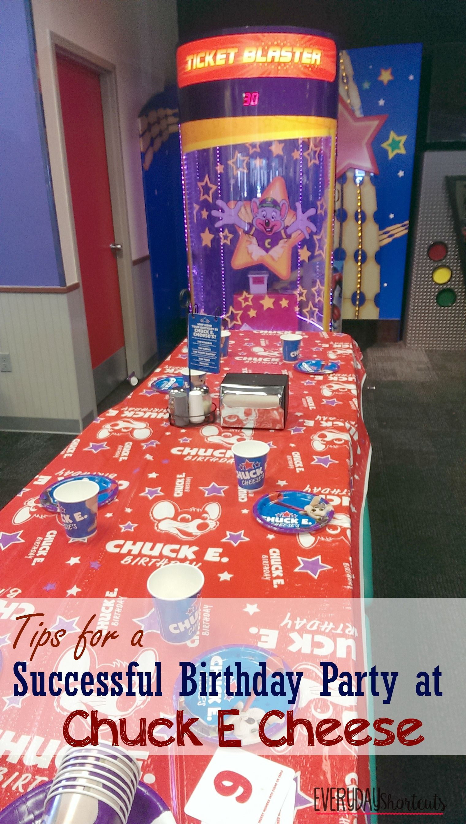 Chuck E Cheese Birthday Party Prices  Tips for a Successful Birthday Party at Chuck E Cheese
