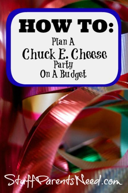 Chuck E Cheese Birthday Party Prices  How to Plan a Chuck E Cheese Party on a Bud