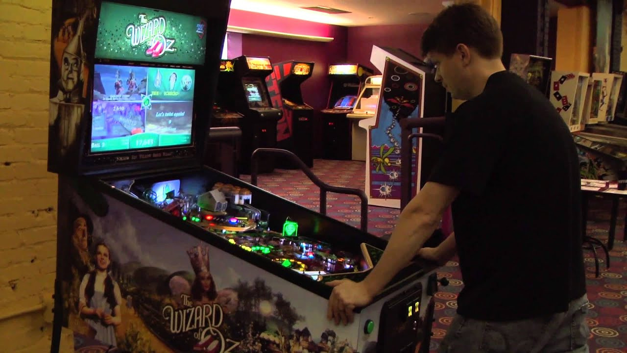 Best ideas about Classic Game Room . Save or Pin Classic Game Room THE WIZARD OF OZ pinball machine Now.