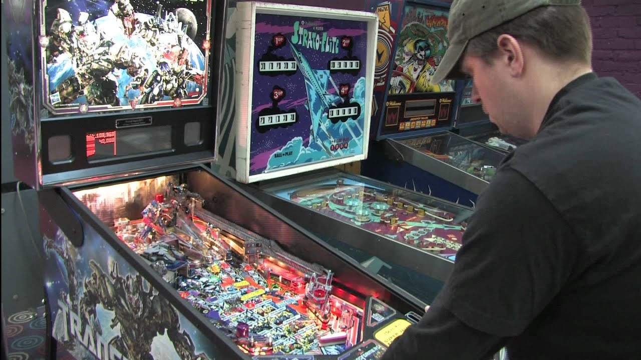Best ideas about Classic Game Room . Save or Pin Classic Game Room TRANSFORMERS pinball machine review Now.