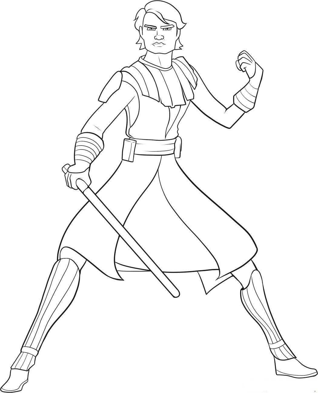 Clone Wars Coloring Pages  star wars darth vader yoda coloring pages for kids storm