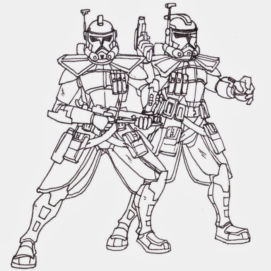 Clone Wars Coloring Pages  Printable coloring pages