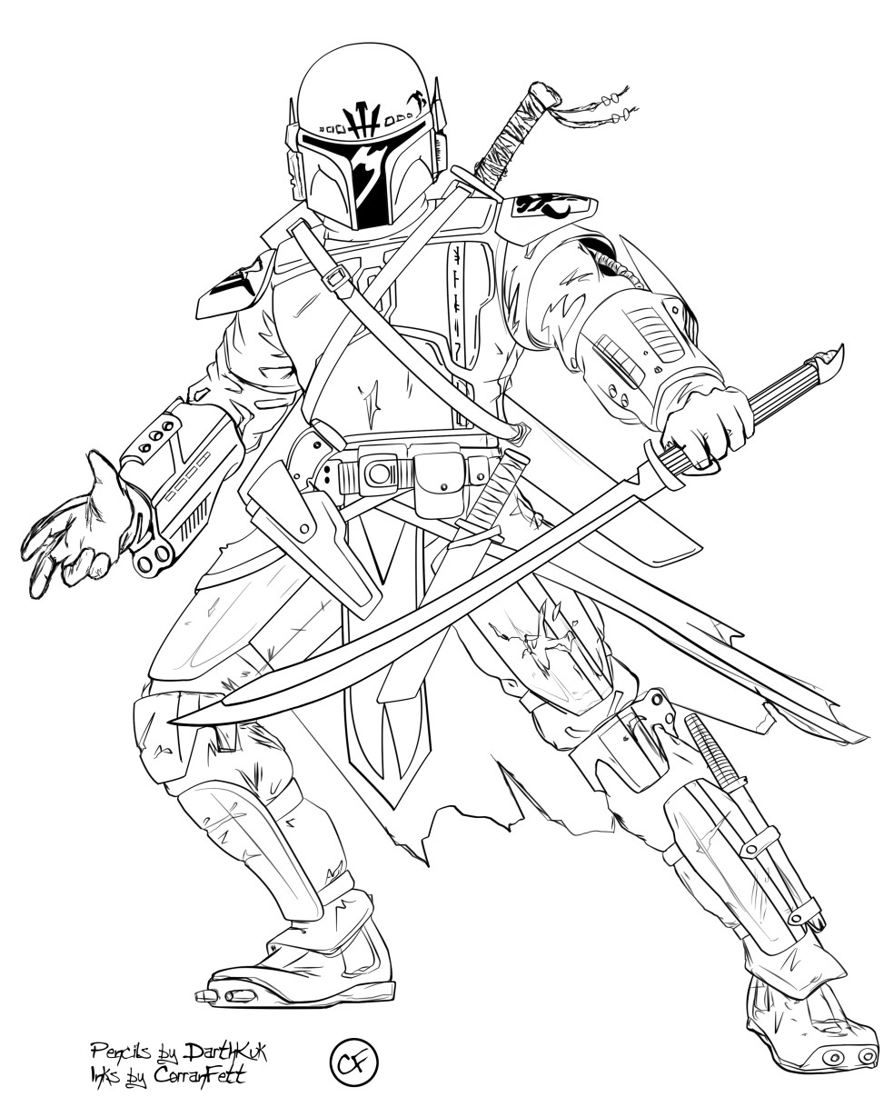 Clone Wars Coloring Pages  Free Printable Star Wars Coloring Pages For Kids