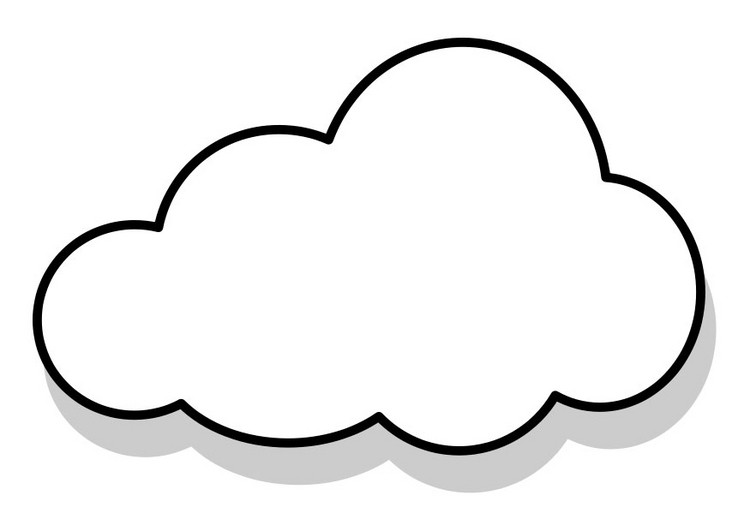 Cloud Coloring Pages  Free Printable Cloud Coloring Pages For Kids