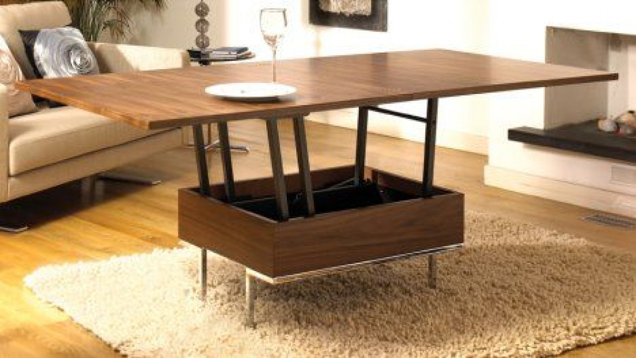 Best ideas about Coffee Table To Dining Table . Save or Pin Small space coffee table convertible coffee table into Now.