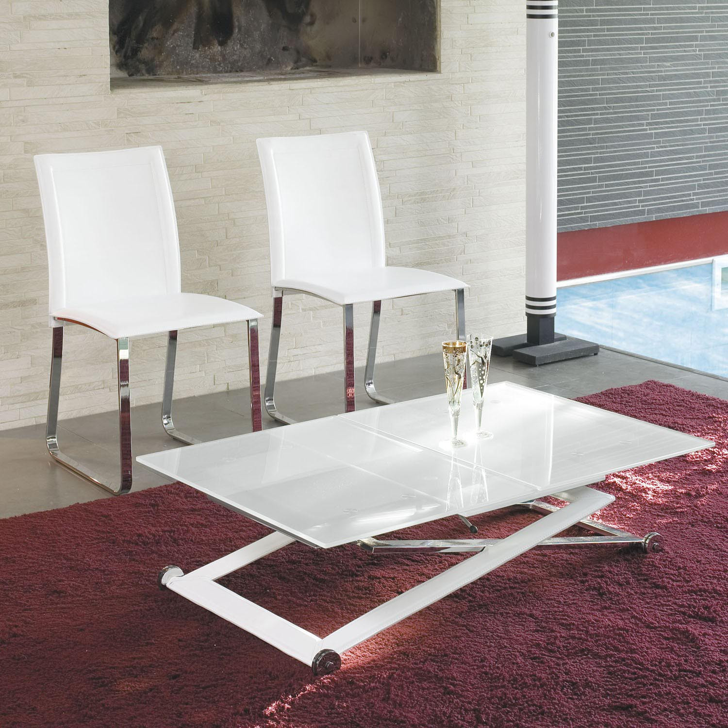 Best ideas about Coffee Table To Dining Table . Save or Pin Height Adjustable Coffee Table Expandable Into Dining Now.