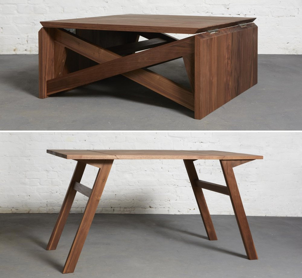 Best ideas about Coffee Table To Dining Table . Save or Pin Furniture Coffee Table Converts To Dining Table Now.