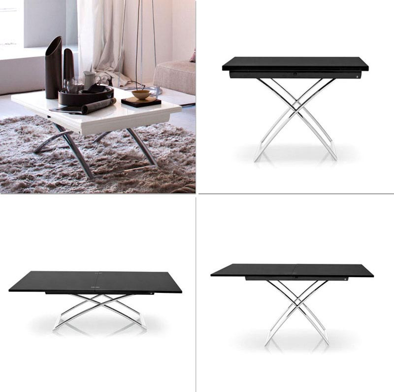 Best ideas about Coffee Table To Dining Table . Save or Pin Coffee Table Convertible To Dining Now.