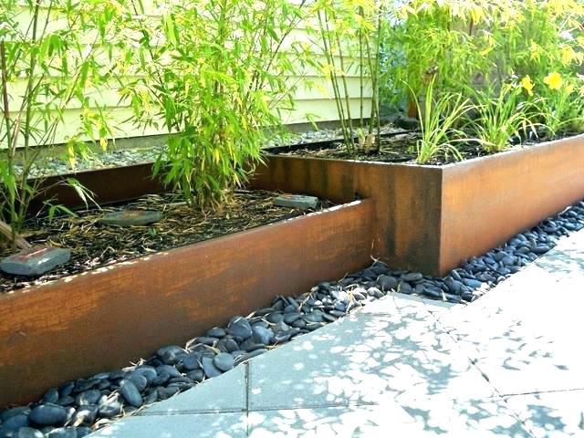 Best ideas about Col-Met Steel Landscape Edging . Save or Pin Black Metal Edging Black Garden Edging Edging Landscaping Now.