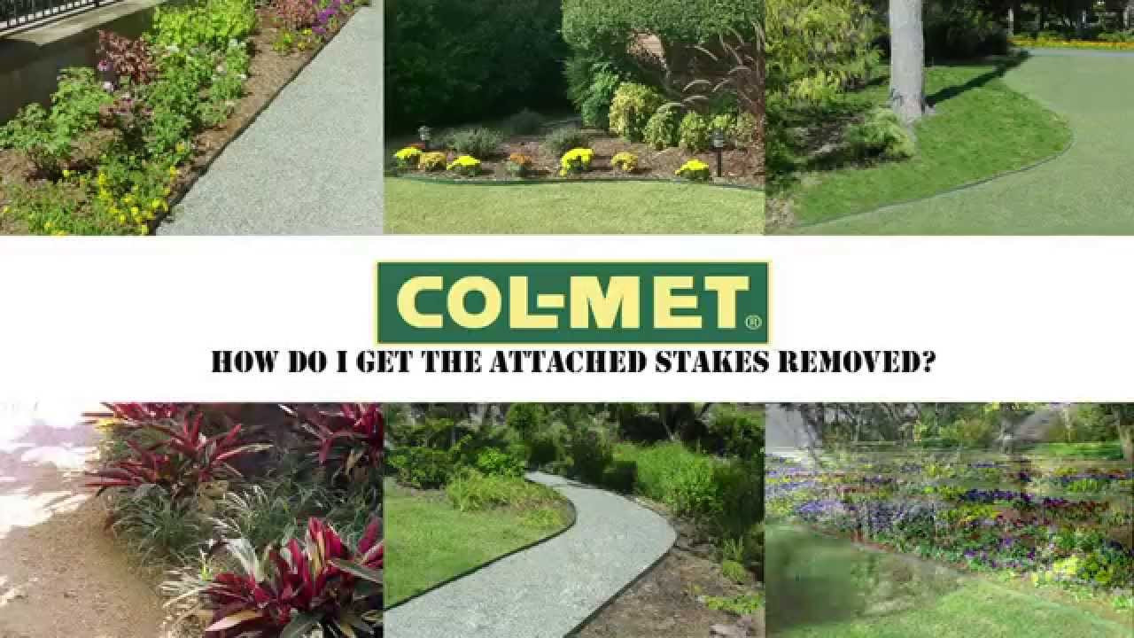 Best ideas about Col-Met Steel Landscape Edging . Save or Pin Col Met Steel Landscape Edging Attached Stake Removal Now.