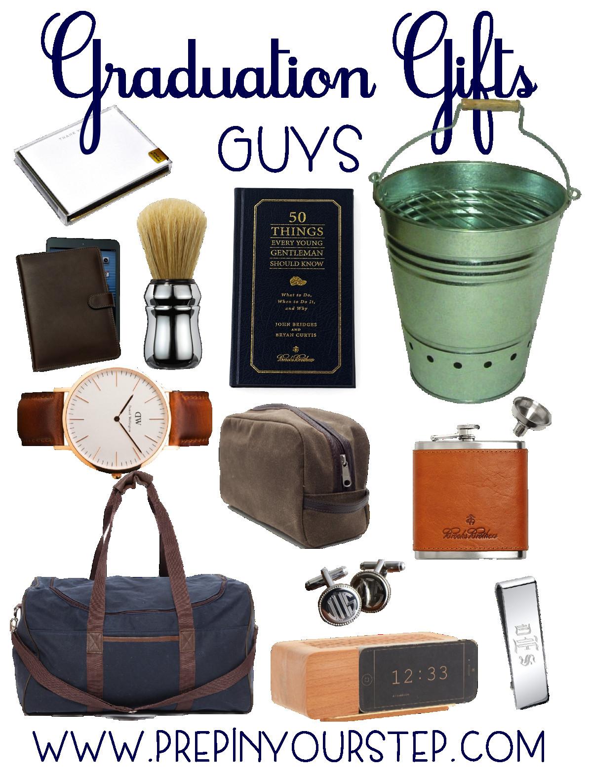 College Boyfriend Gift Ideas  Graduation Gift Ideas Guys & Girls Prep In Your Step