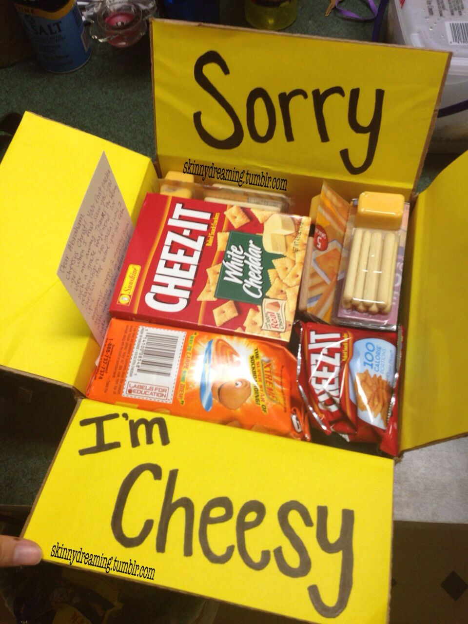College Boyfriend Gift Ideas  My very first care package to my boyfriend Super cute and