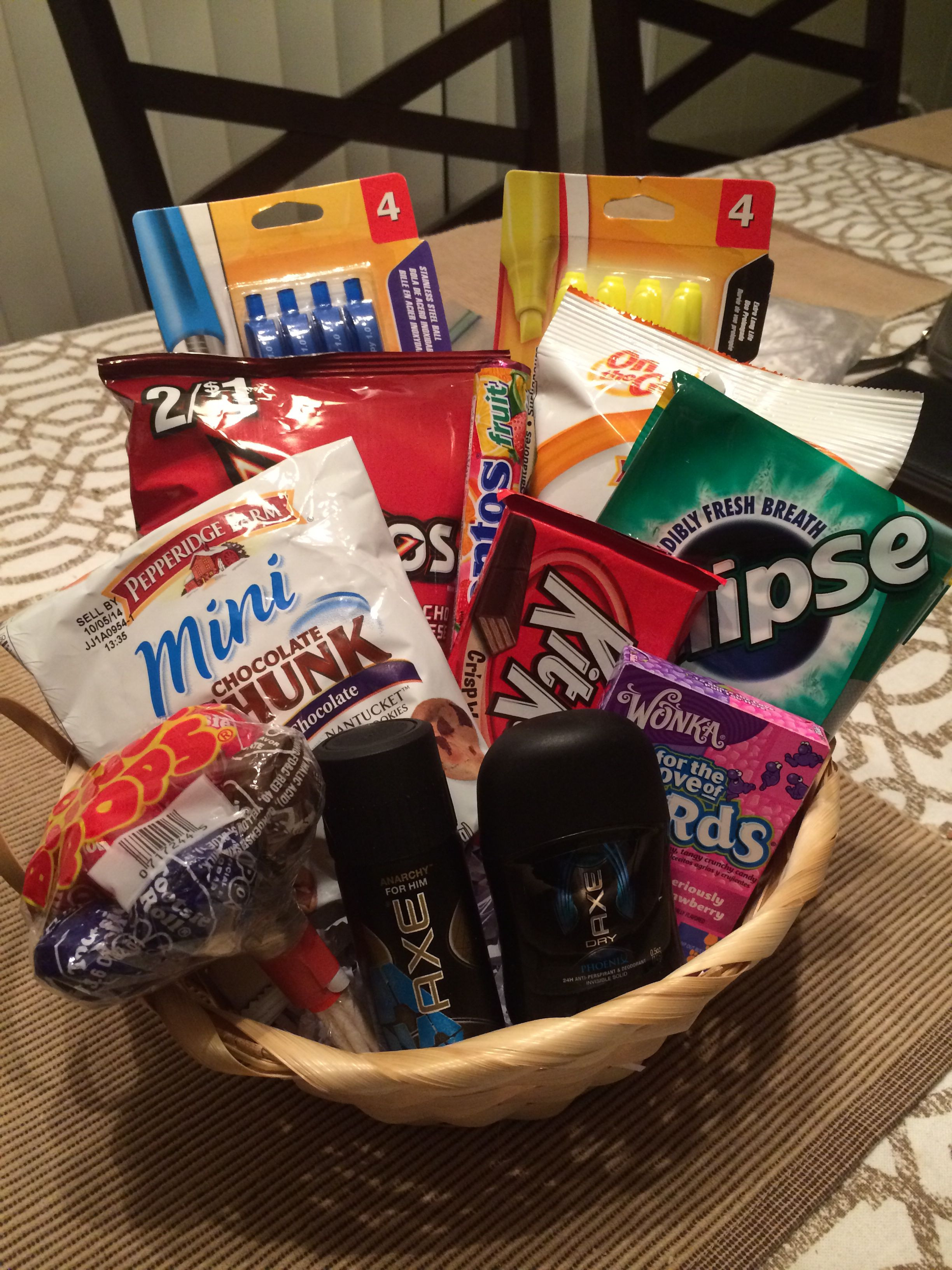 College Boyfriend Gift Ideas  8th grade graduation t for a boy