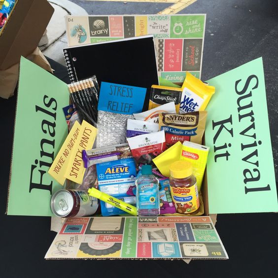 College Girlfriend Gift Ideas  Care Package Ideas for Your College Students 24 7 Moms