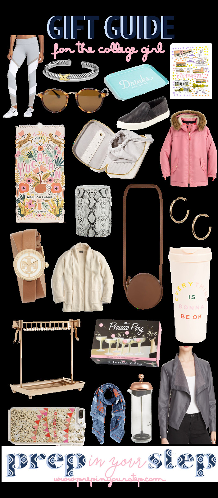 College Girlfriend Gift Ideas  Prep In Your Step Gift Guide For the College Girl