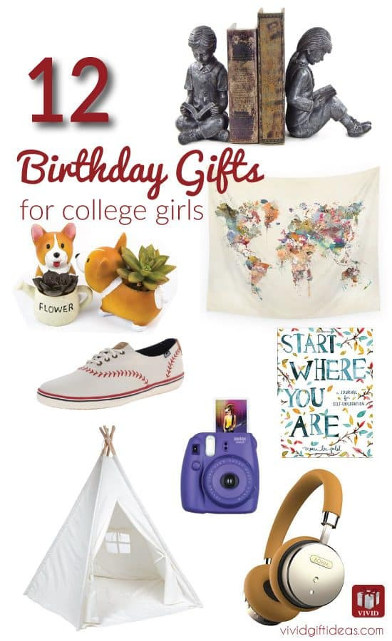 College Girlfriend Gift Ideas  College Student Birthday Gift Ideas For Her Vivid s