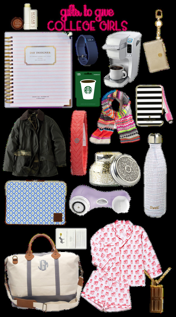 College Girlfriend Gift Ideas  Prep In Your Step Gifts to Give College Girl
