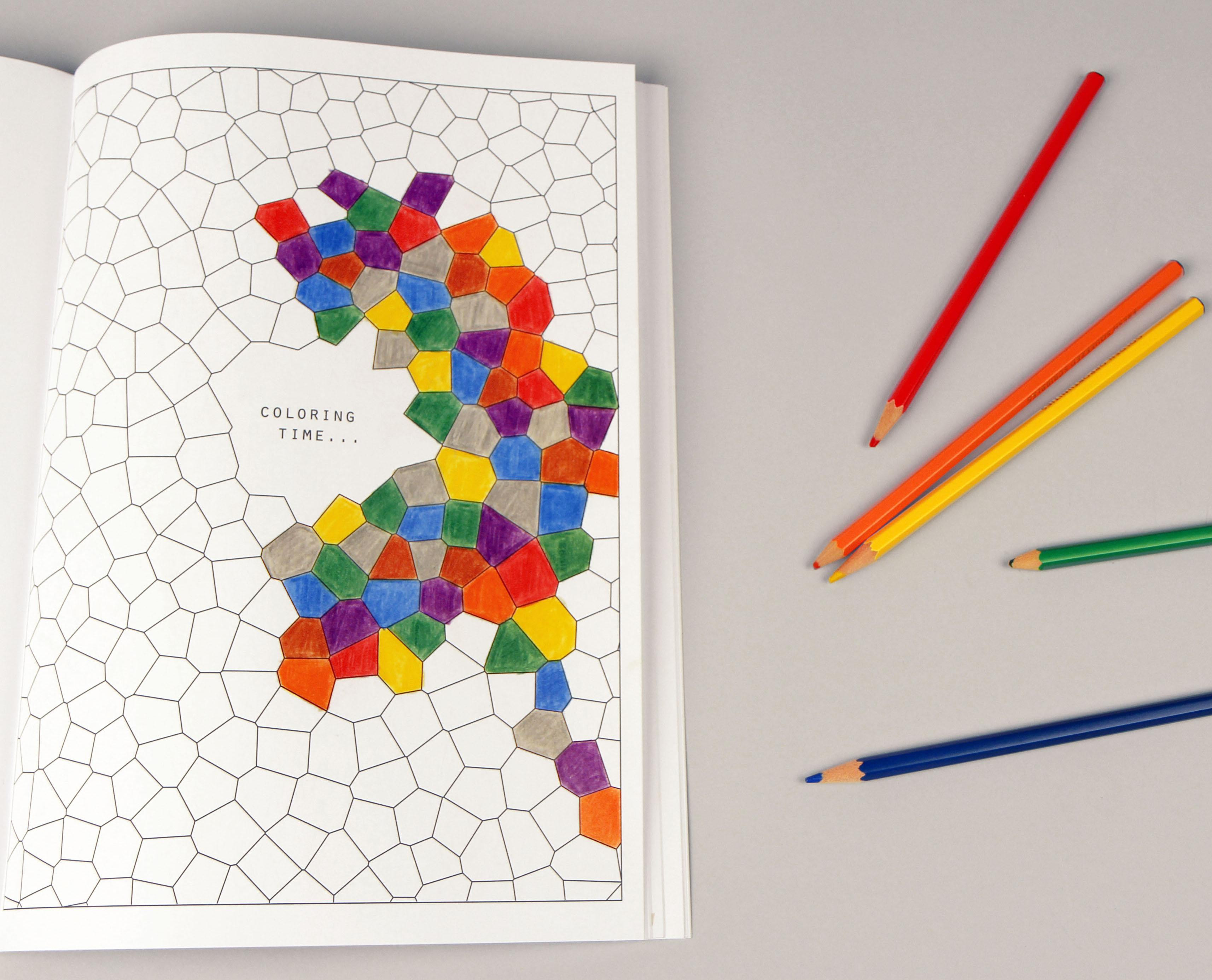 Colored Pencil Coloring Books  Brain Science Coloring Book with Bright Ideas Colored